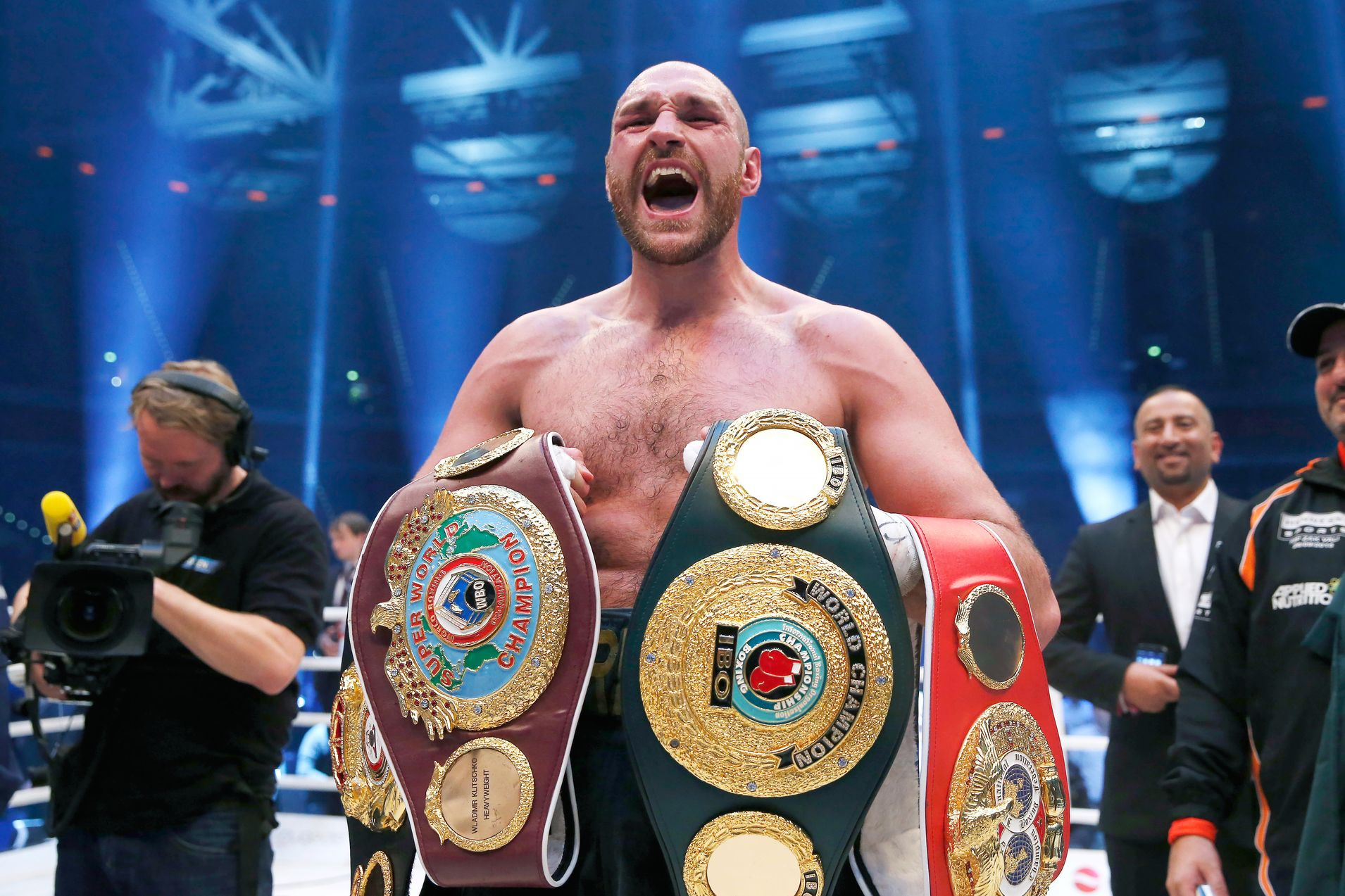 An evening with the Gypsy King Tyson Fury