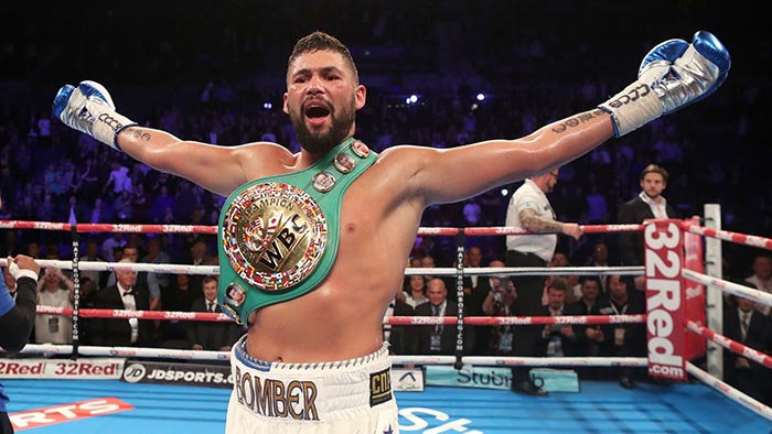 An evening with the Tony Bellew and Dereck Chisora