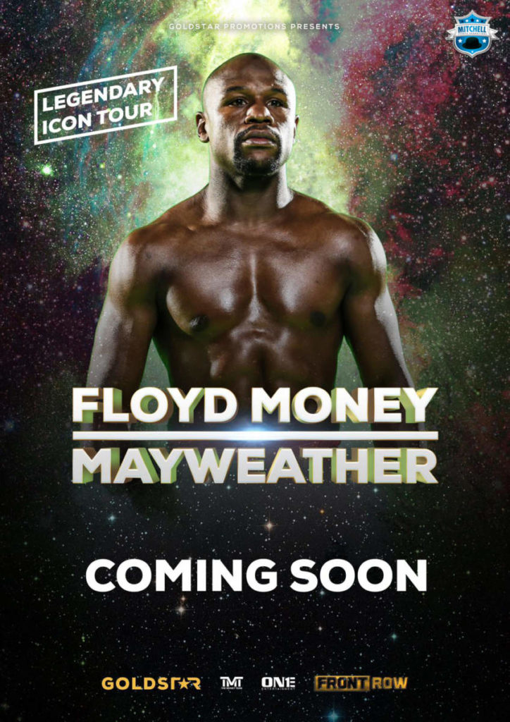 Floyd Mayweather meet and greet in Derby